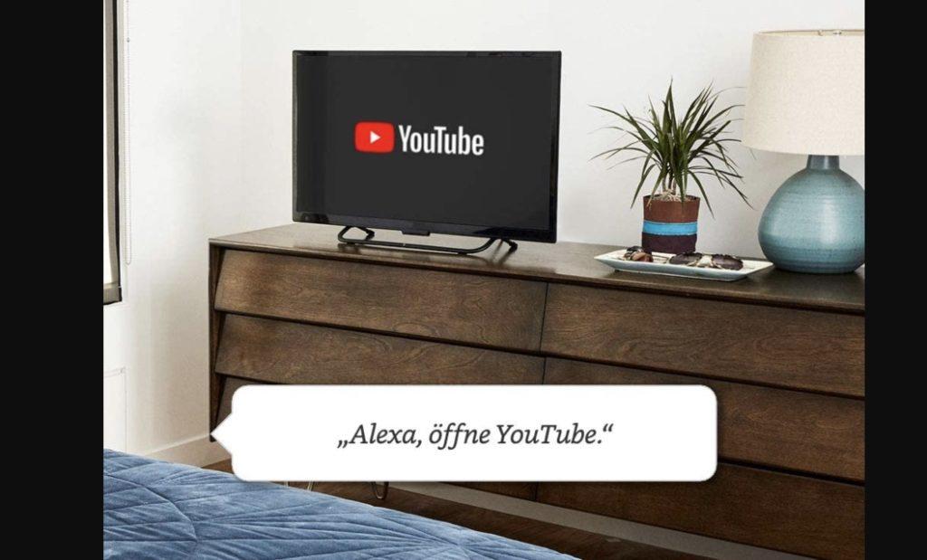 Fire TV Stick Alexa am Fernseher nutzen