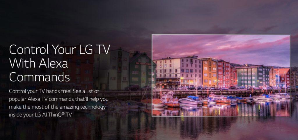 LG TV fernsteuern mit Alexa
