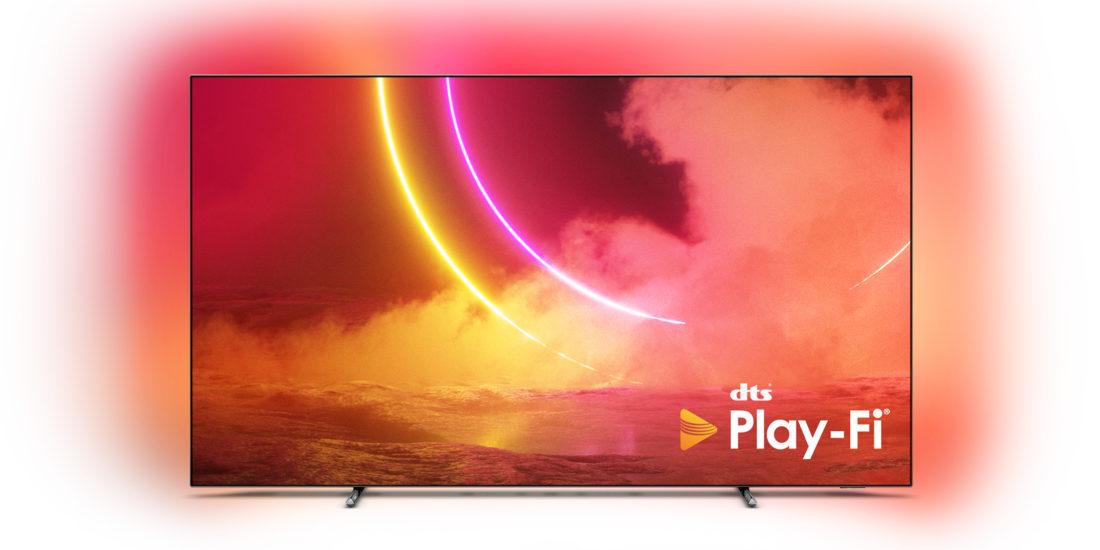 Philips rüstet Fernseher und Audiogeräte mit DTS Play-Fi aus