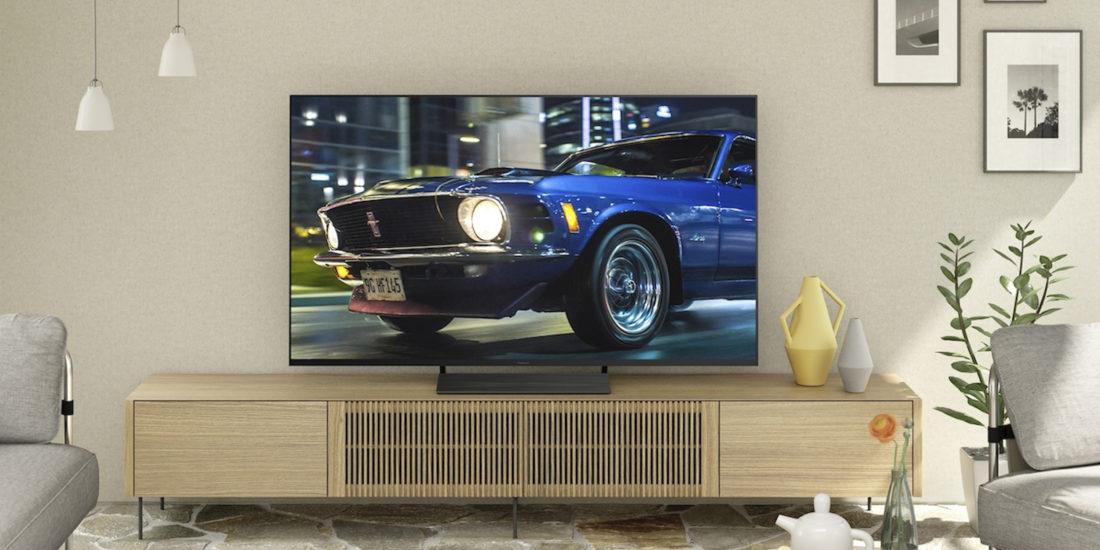Auch der Panasonic-TV HXW804 trägt das Netflix-Qualitätssiegel.