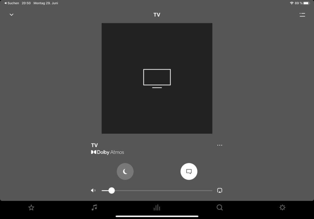 Sonos-App Dolby Atmos