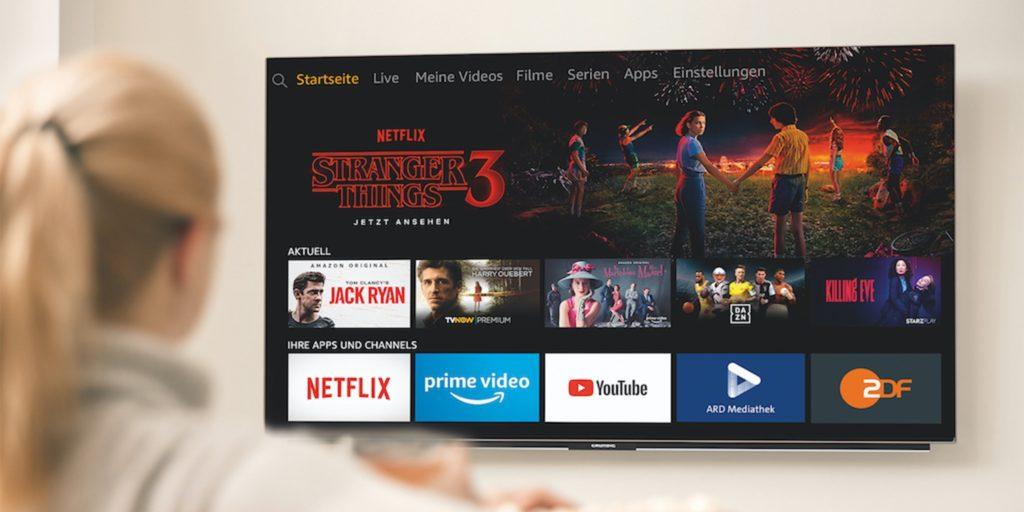 Amazon Prime Fire TV Edition Grundig