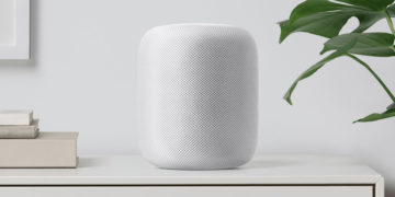 Apple HomePod in Weiss