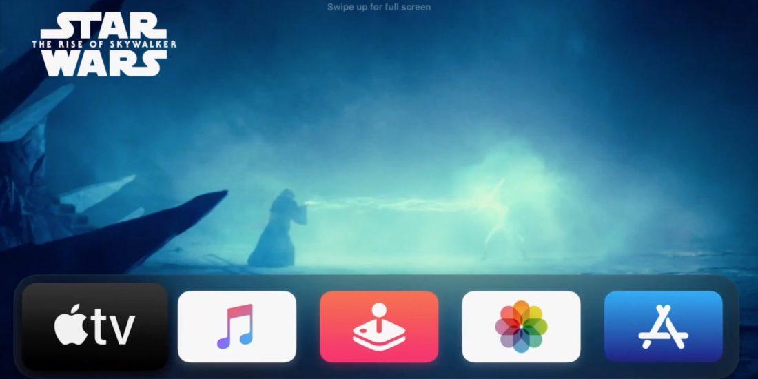 Apple tvOS 14 Update Homescreen
