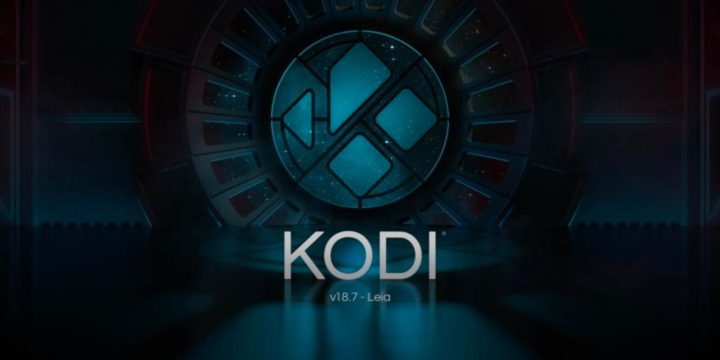Kodi Mediacenter Splash Screen