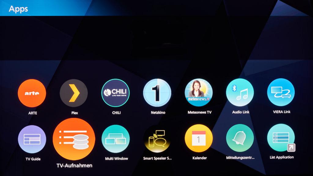 Panasonic HXW944 Apps
