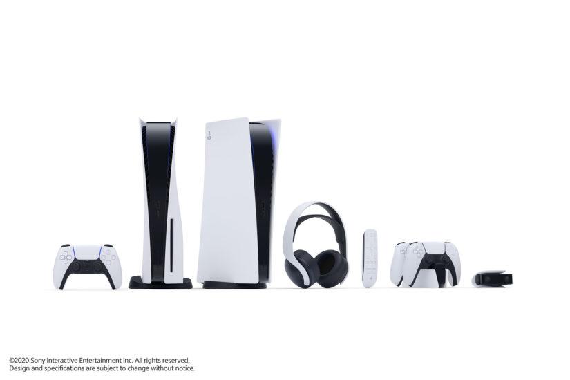 PS5 mit Zubehör