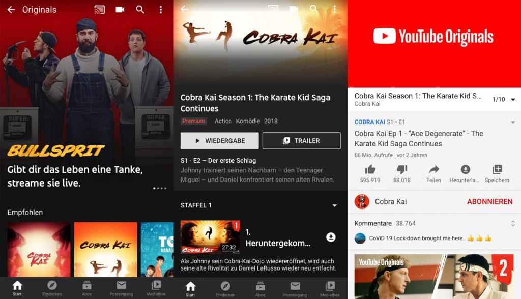 Die Youtube-App