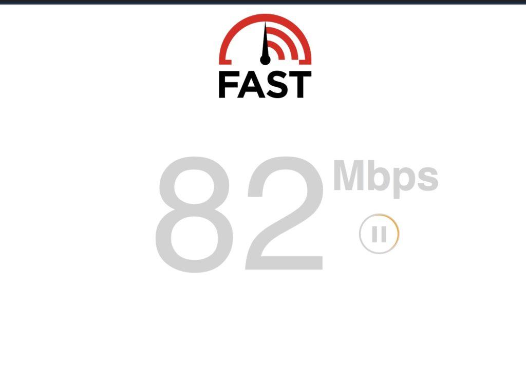 Internet-Geschwindigkeitstest VPN