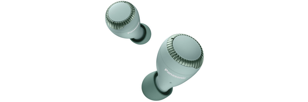 Die Ohrhörer des Modells S300W in Mintgrün.