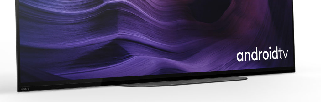 Ein Ausschnitt vom unteren Bereich des Fernsehers.