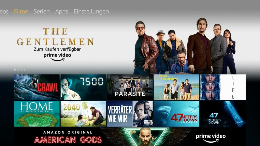 Amazon Prime Video ist benutzerfreundlich in das Betriebssystem integriert.  Bild: HIFI.DE
