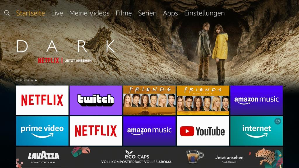 Die Menüleiste bietet hilfreiche Auswahlmöglichkeiten. | Bild: HIFI.DE