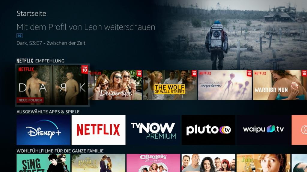 Die Empfehlungen auf der Startseite beschränken sich nicht auf Amazon Prime. |Bild: HIFI.DE