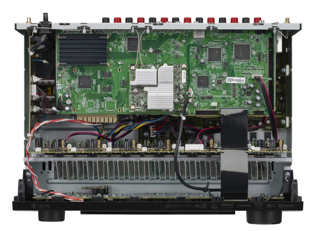 Das Innenleben des Denon AVR-S960H