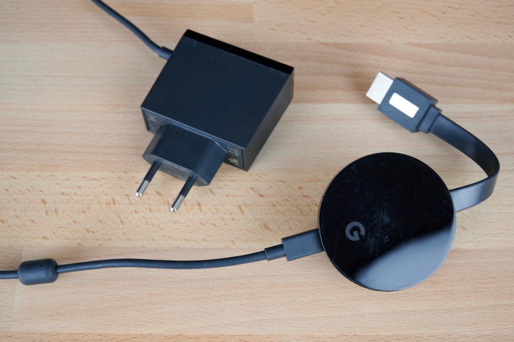Der Anschluss des Chromecast Ultra funktioniert einfach und problemlos. |Bild: HIFI.DE
