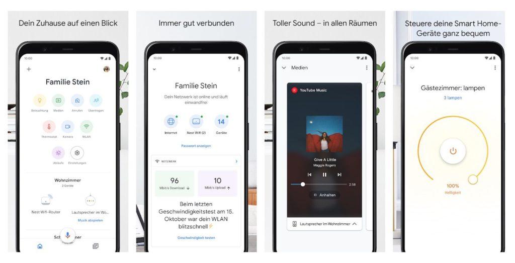 Google Home App für Android