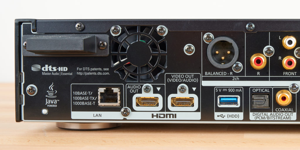 HDMI-OUT: Blu-ray-Player