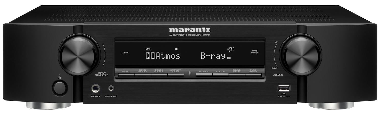 Marantz NR1711 Front Schwarz