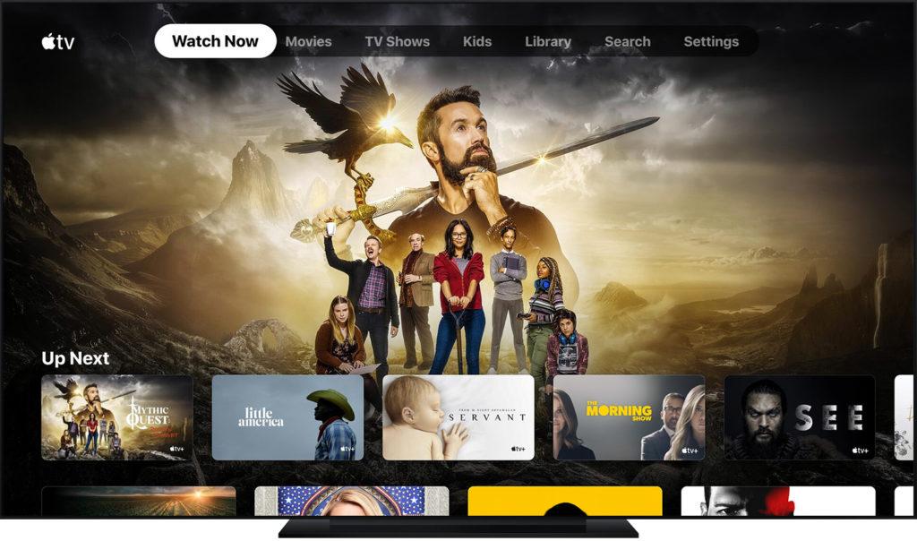 Apple TV App auf Smart TV