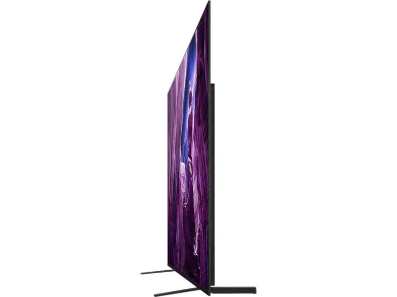 """Das """"One Slate Design"""", wie Sony es nennt, verleiht dem OLED A8 ein schlankes und nobles Erscheinungsbild"""