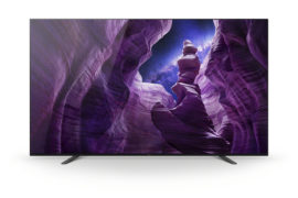Sony OLED A8 Frontansicht