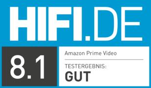 HIFI.DE Testsiegel für Amazon Prime Kosten:Lohnt sich der Amazon Streaming-Dienst?