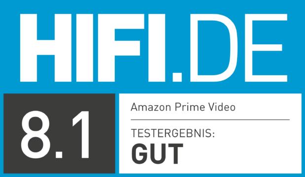 HIFI.DE Testsiegel für Amazon Prime