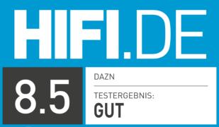 HIFI.DE Testsiegel für DAZN im Test: Was kann der sportliche Streaming-Dienst?