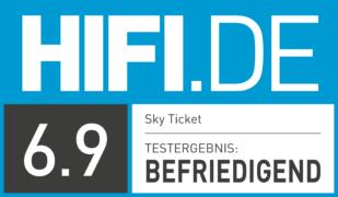 HIFI.DE Testsiegel für Sky Ticket im Test: Wie gut ist der Streaming-Dienst?