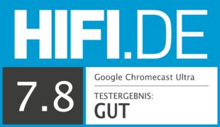 HIFI.DE Testsiegel für Chromecast im Test: Besser als der Fire TV Stick?