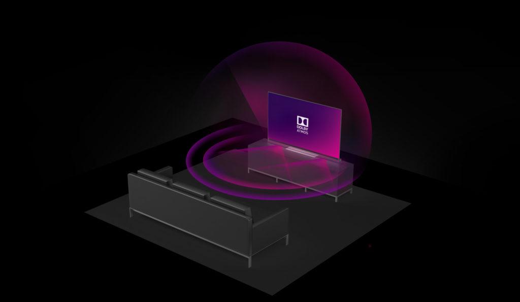 Es gibt auch TVs mit Dolby Atmos