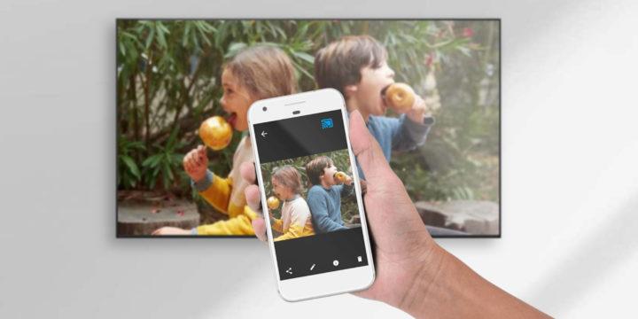 Android-Smartphone mit Fernseher verbinden