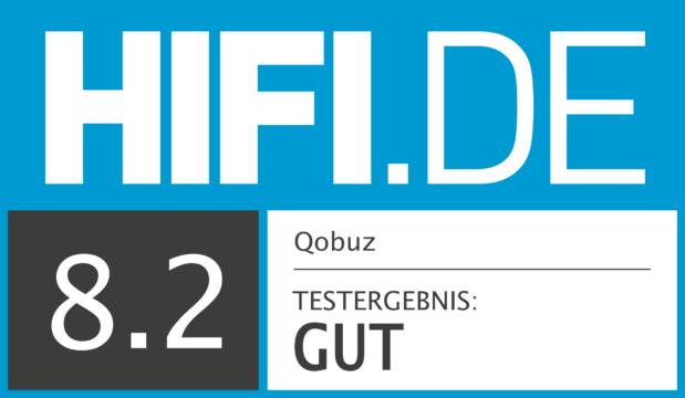 HIFI.DE Testsiegel für Qobuz
