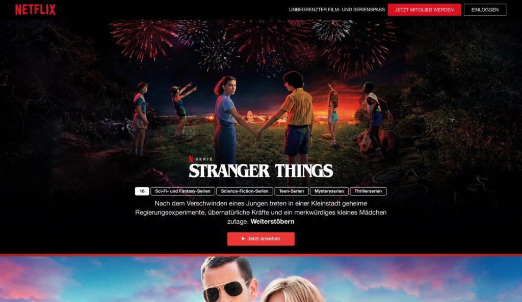 Netflix - Kostenlos Filme und Serien streamen