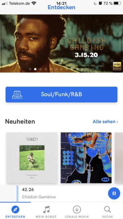 Qobuz Genre Soul Funk R&B