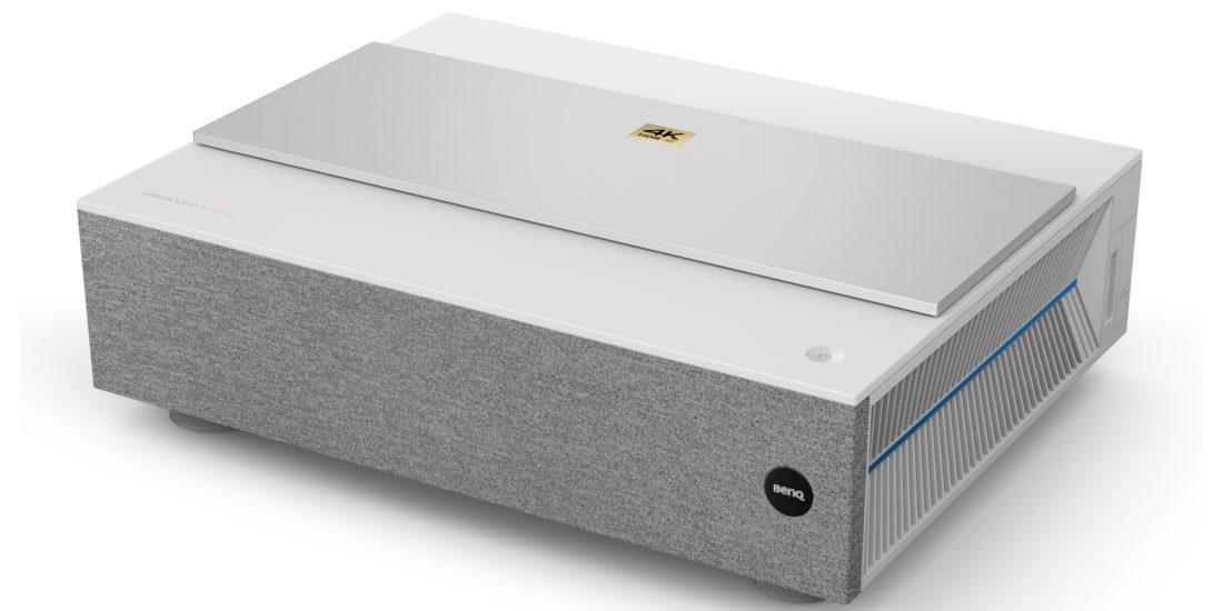 Der BenQ V6000 ist das weiße Gerät