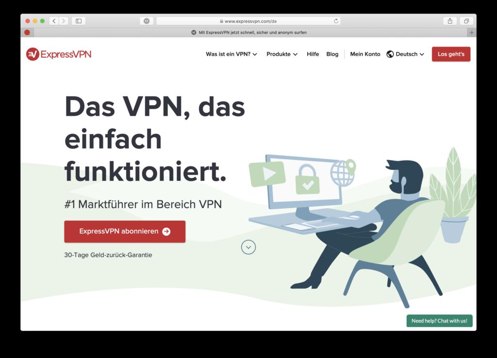 ExpressVPN VPN-Anbieter