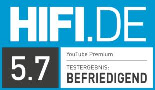 HIFI.DE Testsiegel für YouTube Premium im Test: Wie gut ist der Streaming-Dienst?