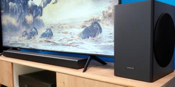 Soundbar Samsung HW-Q60T mit Subwoofer | HIFI.DE