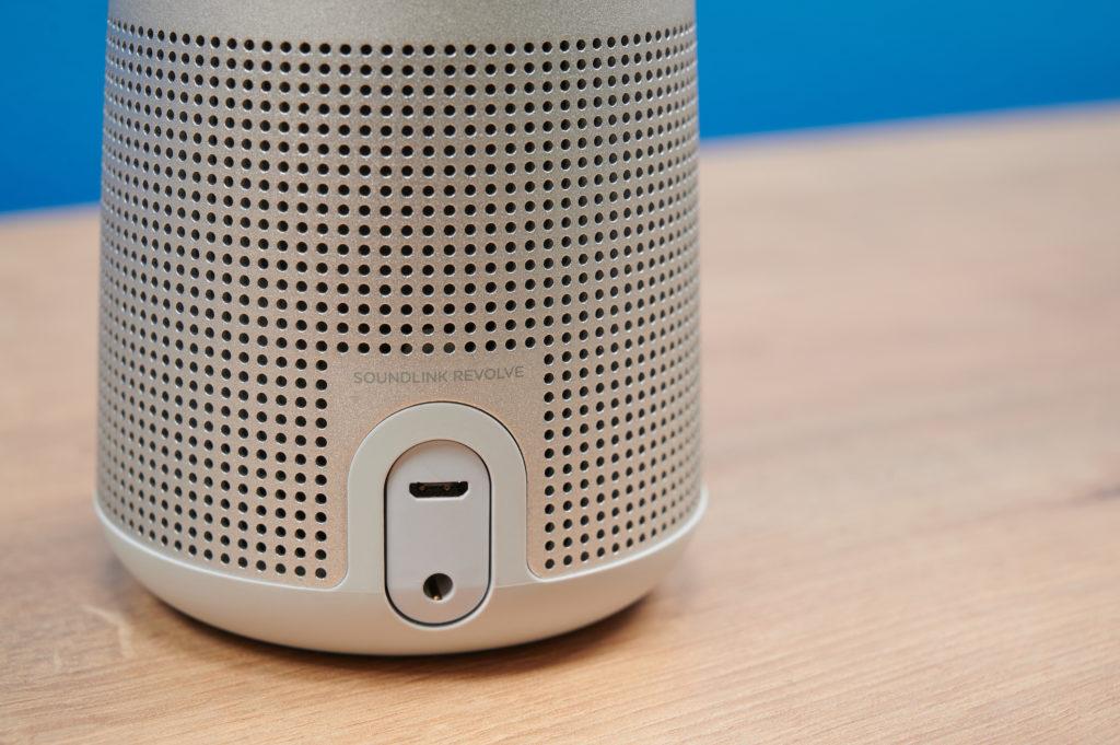 Bose SoundLink Revolve Anschlüsse
