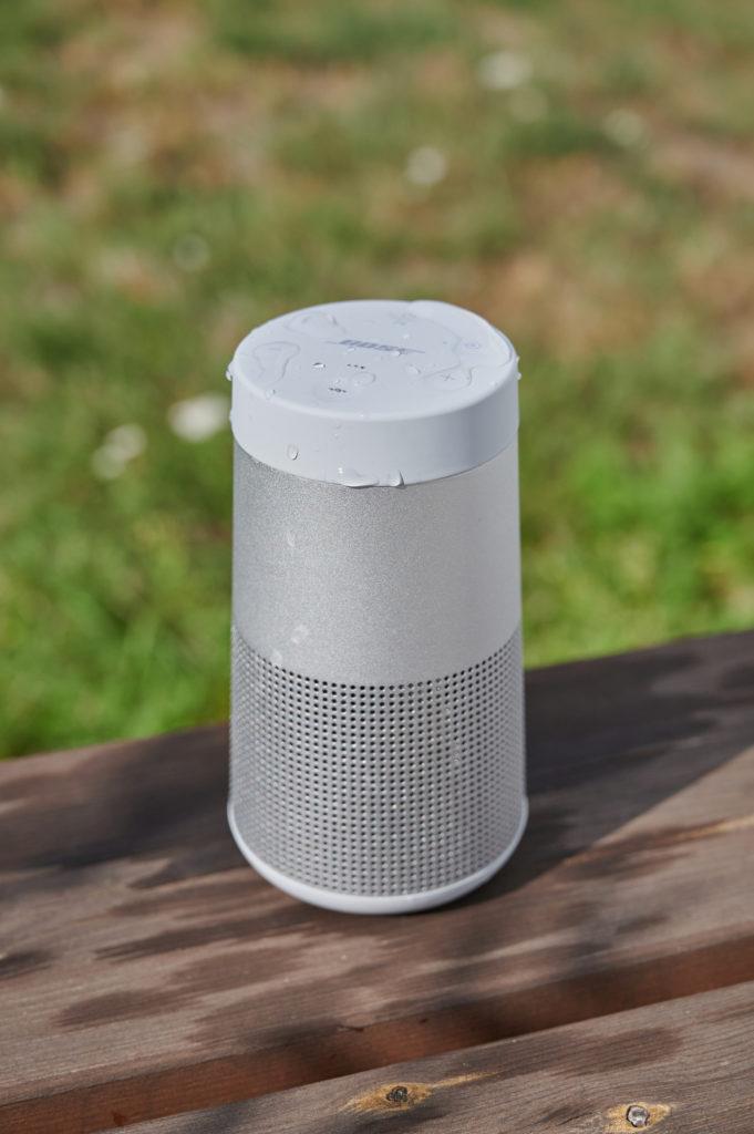 Bose SoundLink Revolve Spritzwassergeschütz