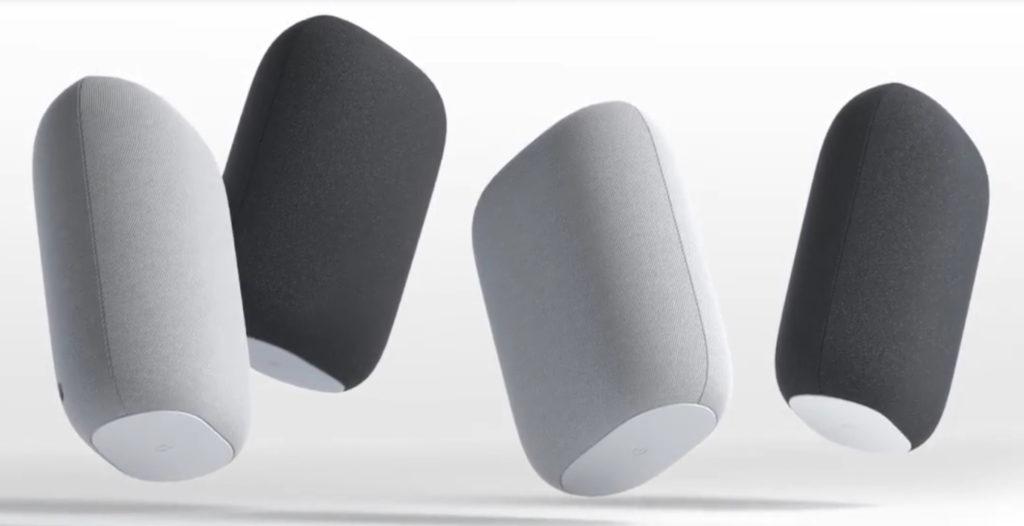 Den Nest Audio gibt es in Schwarz und Weiß.
