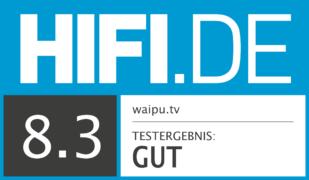HIFI.DE Testsiegel für waipu.tv im Test: Die bessere Alternative zu Zattoo?