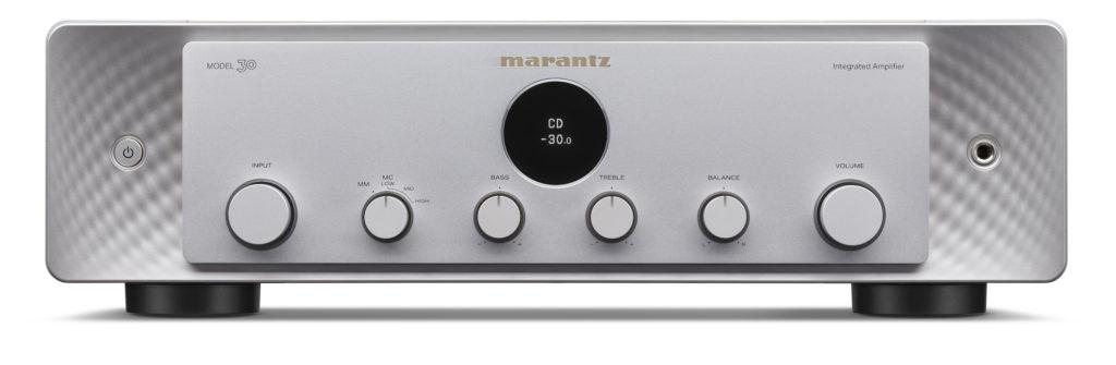 Marantz Model 30 in silber gold Frontansicht.