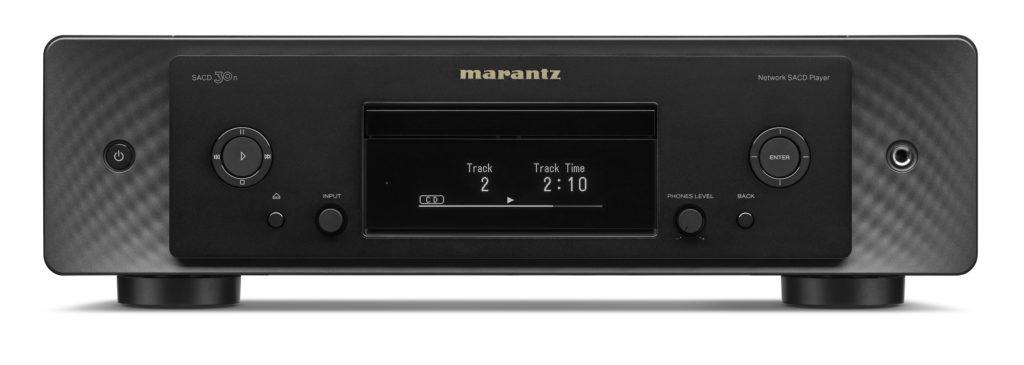 Marantz SACD 30n schwarz Frontansicht.