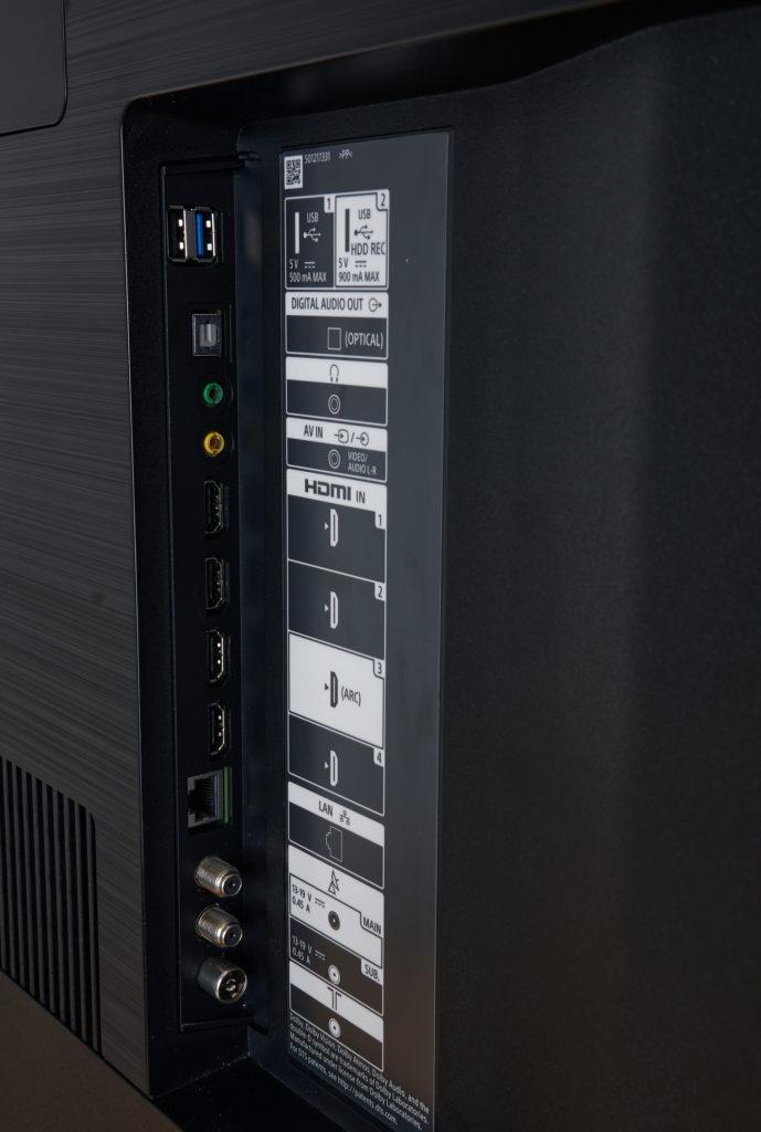 Sony XH90 Anschluesse