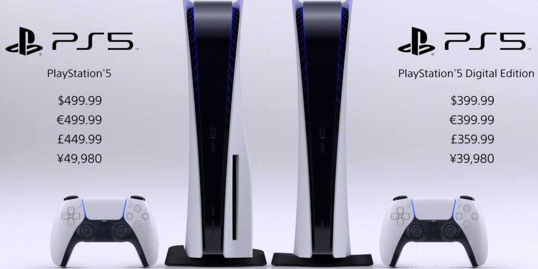 Die Sony PlayStation 5 erscheint am 19. November 2020.