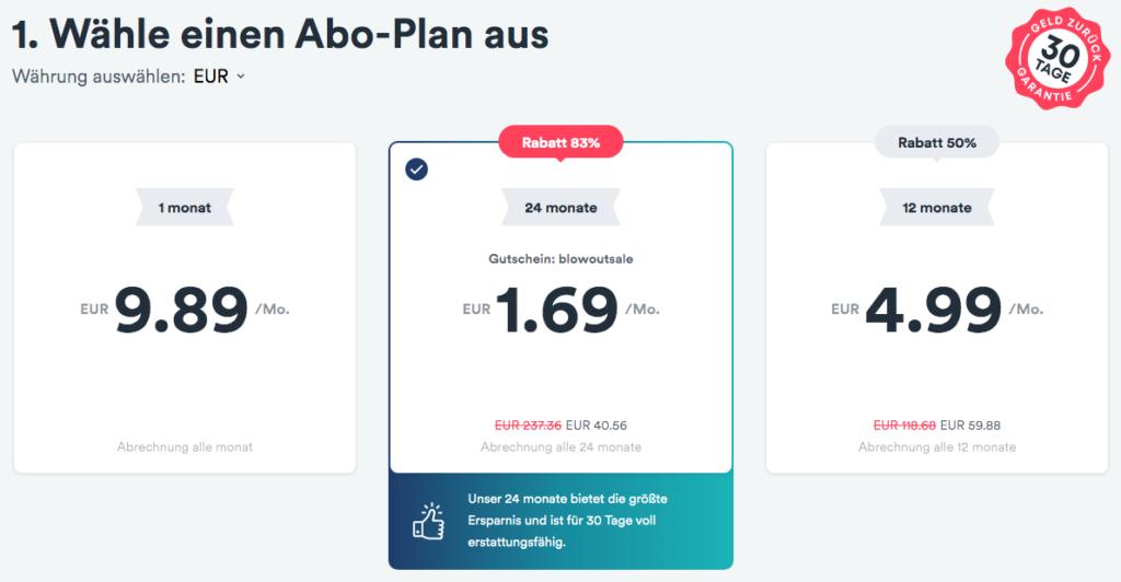 Vor allem das Zwei-Jahres-Abo von Surfshark VPN ist ein Preisbrecher.