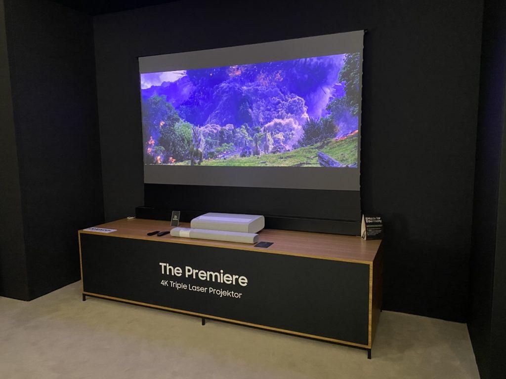 Samsung The Premiere im Heimkino